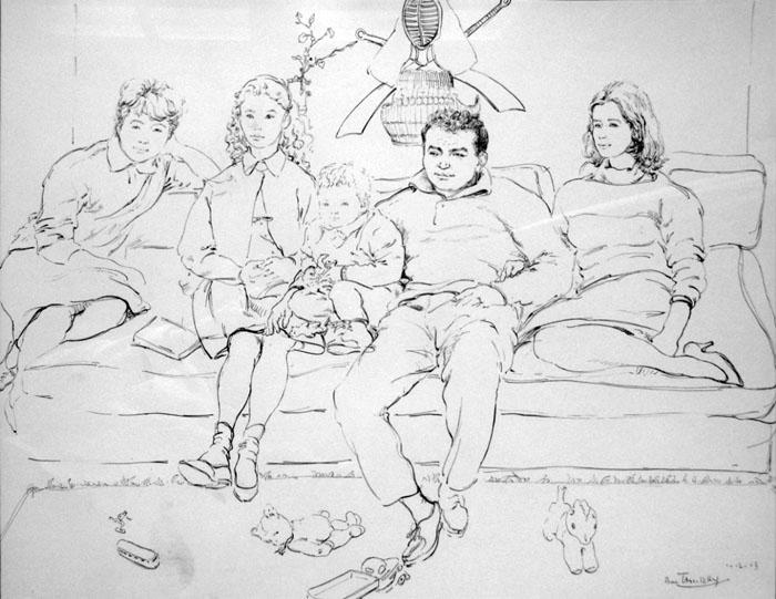 Boris Taslitzky Drawings Genre Scenes