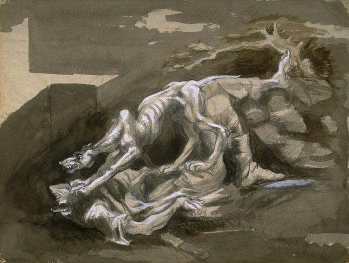 La guerre dans l'art 064-boris-Taslitzky-dessins-guerre-1941