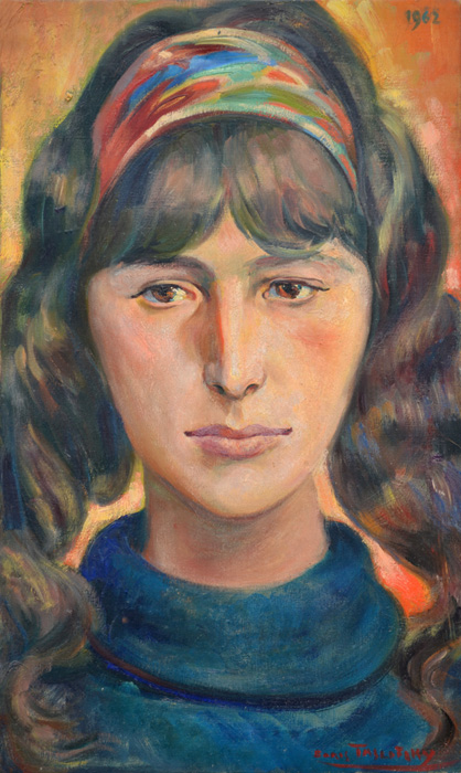 Fabuleux Boris TASLITZKY, Peintures, Portraits 2 TY14